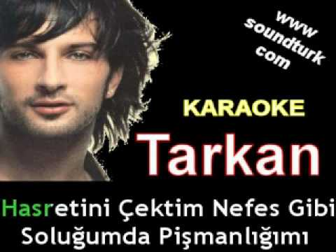 Tarkan - Selam Ver karaoke