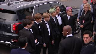BTS Arriving To The Red Carpet | 2019 GRAMMYs