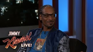 Jimmy Kimmel Surprises Snoop Dogg with Hollywood Star Announcement