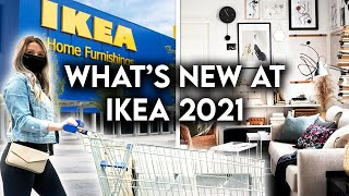 IKEA SHOP WITH ME 2021 | NEW PRODUCTS + DECOR