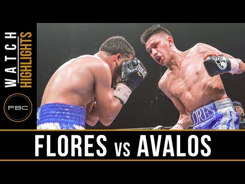 Miguel Flores vs Chris Avalos