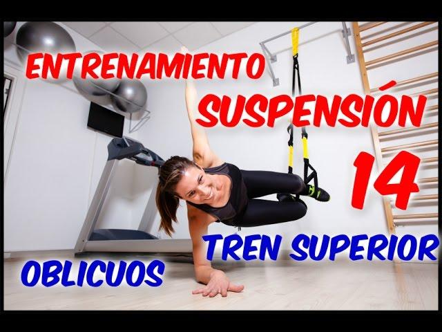 TRX | Vídeo-entrenamiento en suspensión (XIV): Core III - Oblicuos