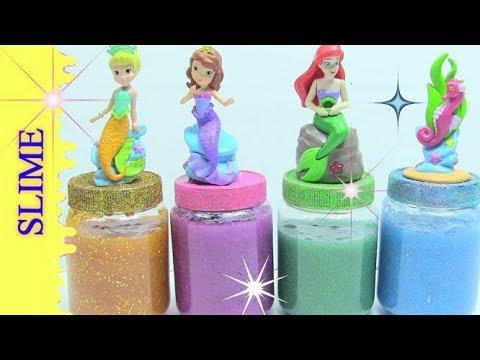Slime Nàng Tiên Cá Siêu Đẹp - Hướng Dẫn Làm Slime - Đồ Chơi Trẻ Em CHỊ BÍ ĐỎ