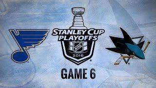 Ward nets two in Game 6 to send Sharks to Cup Final