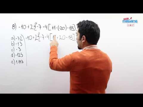 Prueba de números enteros 8