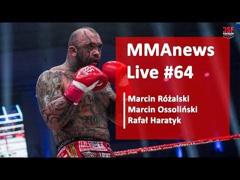 MMAnews Live #64: Ossoliński, Różalski i Haratyk – wtorek od 10:00