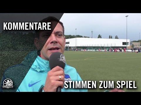 Die Stimme zum Spiel (1. FC Union Berlin - Hertha BSC, U13 D-Junioren, Verbandsliga, Staffel 2) | SPREEKICK.TV