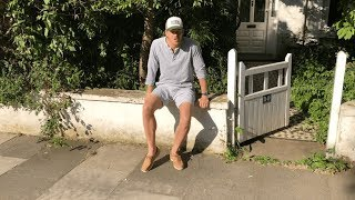 Street testing the new boat shoes from Two Degrees