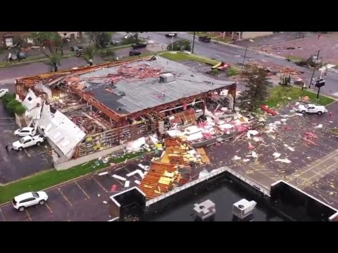 Sioux Falls Tornado Video Compilation