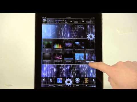 Automação com iPad, iPhone, Android e Computadores utilizando tecnologia Crestron