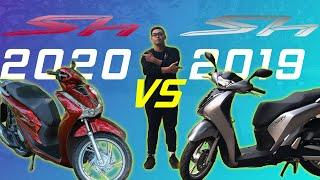 Honda SH 2020 có nâng cấp gì đáng giá, so sánh với SH 2019