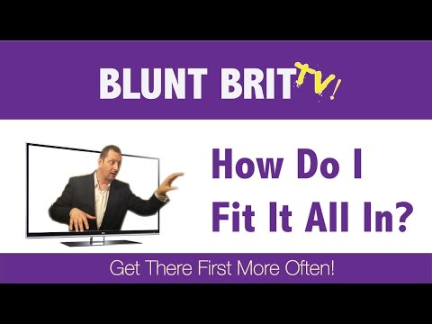 How To Fit in all the digital marketing for your local business - Blunt Brit TV