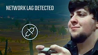 The Network Lag Experience In PUBG
