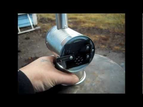 MINIATURE WOODSTOVE ( HOW TO Build and Burn Test ) Part 2 & DIY TENT WOOD STOVE PROTO # 4 Musica Movil | MusicaMoviles.com