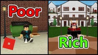 Poor to Rich | Bloxburg Short Film | Roblox Story