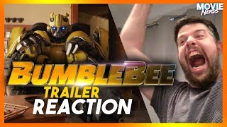 Bumblebee (2018) - New Official Trailer - Paramount Pictures REACTION