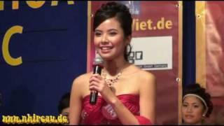 Kiều Khanh đăng quang Hoa hậu Việt Nam tại châu Âu