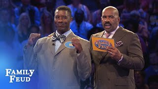 CLAYS GETTIN' PAID | Family Feud