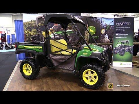 2017 John Deere Gator XUV 855D Utility ATV - Walkaround - 2016 Toronto ATV Show