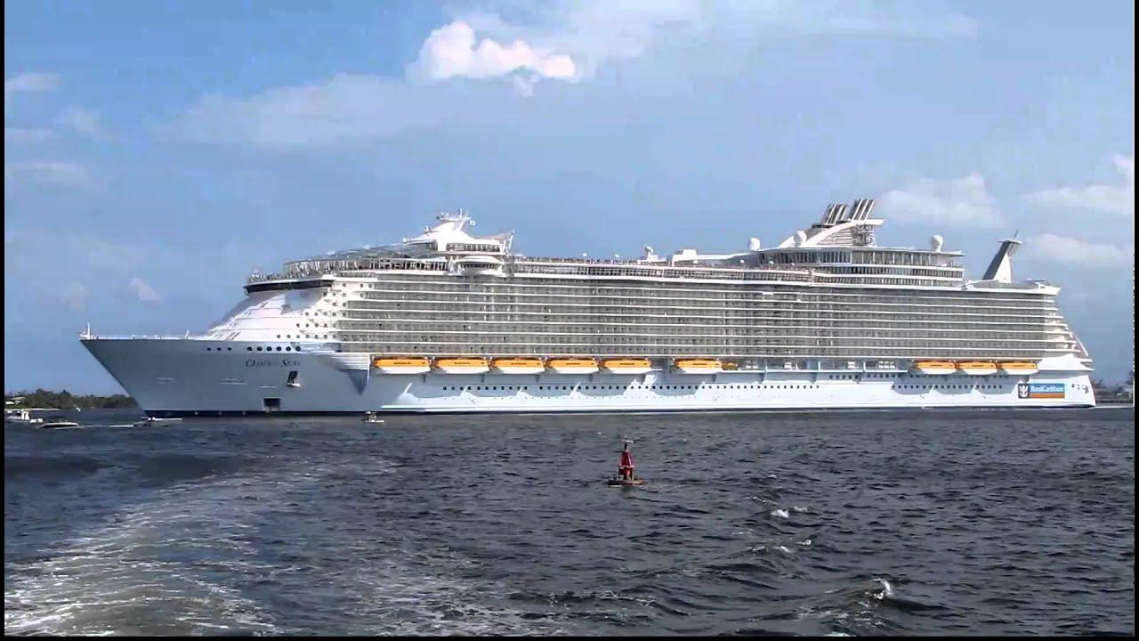 Oasis Of The Seas Leaving Fort Lauderdale