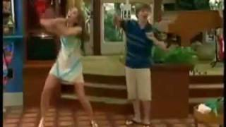 You give lunch a bad name Hannah Montana Season 3 Miley & Jackson Singing (Funny part LOL)