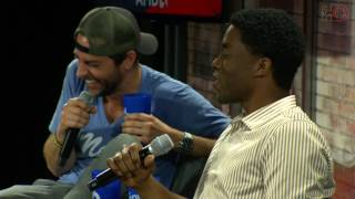 Nerd HQ 2016: A Conversation with Chadwick Boseman