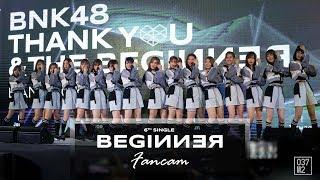190302 BNK48 Senbatsu - Beginner @ Thank you & The Beginner [Fancam 4k 60p]