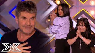SIMON COWELL Feels Like JAMES BOND With His BOND GIRLS   X Factor Global