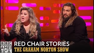 Kelly Clarkson Is Offended By This Bizarre Red Chair Story - The Graham Norton Show