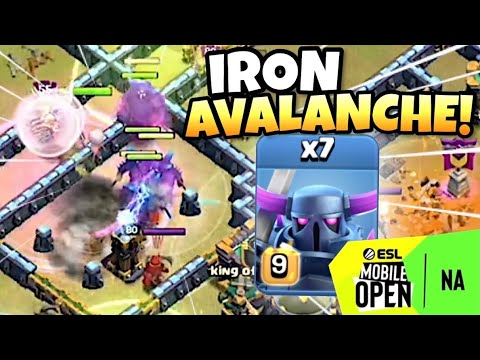 ONEHIVE unveils IRON AVALANCHE Attack in the ESL MOBILE OPEN Play Ins   Clash of Clans eSports