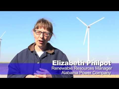 Oklahoma wind now serving Alabama Power customers