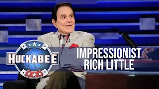 How Impressionist Rich Little Once Finished A Press Conference For Ronald Reagan | Huckabee
