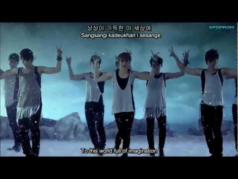 U-Kiss - Neverland MV Eng Sub with Hangul & Romanization Lyrics
