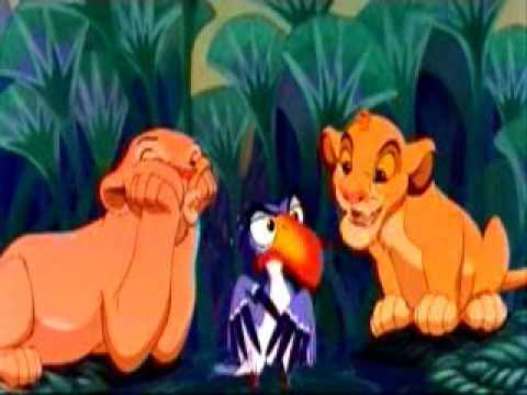 The lion King - I just can't wait to be king