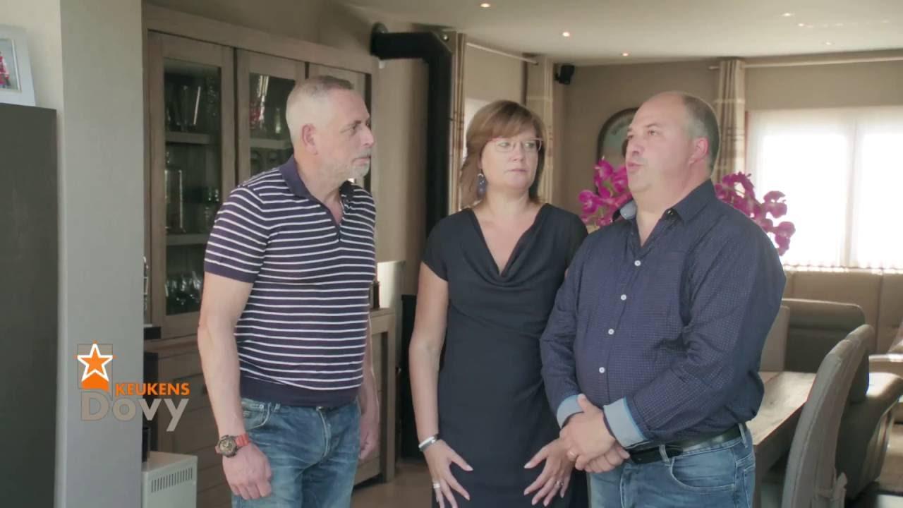 Peter Van Asbroeck bij trotse Dovy-klanten