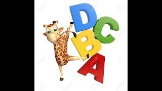 ABC Song | ABCD Alphabet Songs | ABC Songs for Children - 3D ABC