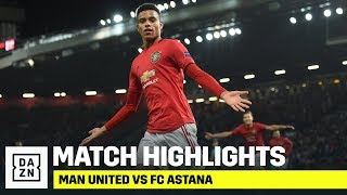 HIGHLIGHTS | Manchester United vs. FC Astana