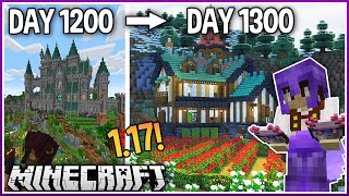 I Played Minecraft for 1300 Days.. (1.17 Survival)