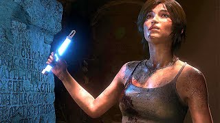 RISE OF THE TOMB RAIDER - XBOX ONE X Gameplay (Tech Video) 4K