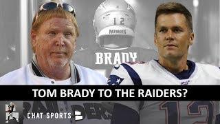 Raiders Rumors: Tom Brady Leaving Patriots Coming To Las Vegas? 2020 NFL Draft Stage & News