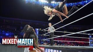 Charlotte Flair takes out Jimmy Uso & Naomi in WWE Mixed Match Challenge showdown