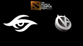 Secret vs VG The Kuala Lumpur Major Highlights Dota 2