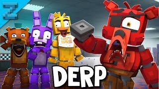 Where is Foxy's Hook? DERP Version   Fazbear and Friends (Minecraft FNAF Animation)