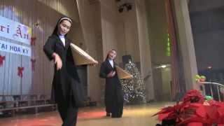 Ca Khúc Tri Ân -Vũ Khúc: CHO CON NHÌN THẤY- Tu Sinh VN du học USA, Baton Rouge 12/29/2013