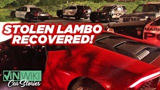 VINwiki found another stolen Lambo!