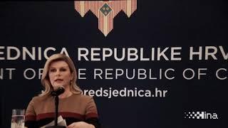 Grabar-Kitarović: Čvrsto vjerujem da Hrvatska želi i može bolje