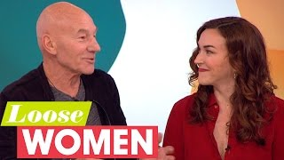 Patrick Stewart And Wife Sunny Ozell On How They Met | Loose Women