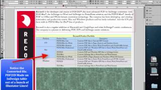Pdf2id makes your pdf file editable in indesign watch pdf2id convert an illustrator file to indesign in a matter of seconds pdf2id converts illustrator pdf and windows xps files to indesign fandeluxe Choice Image