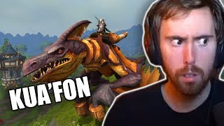 Asmongold Finally Gets Kua'fon As A Mount In World of Warcraft