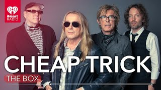 "Cheap Trick On Their Newest Album 'In Another World' + More In iHeartRadio's ""The Box"""